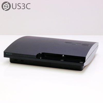 【US3C-小南門店】【一元起標】索尼 Sony PS3 CECH-2007A / CECH-2007型 160G 黑色 二手電玩主機 遊戲主機