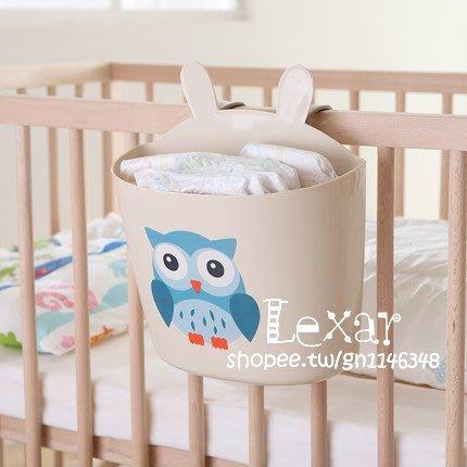 嬰兒床掛袋收納袋置物架兒童床頭尿布袋大學生寢室掛籃