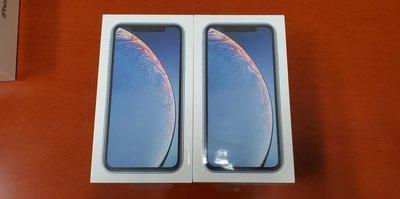 全新 蘋果 Apple iPhone XR 256GB 藍色 香港行貨 一年原廠保養