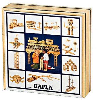 法國【KAPLA】精靈積木-原木積木盒(基本款)100PCS  天然松木益智操作幼教積木