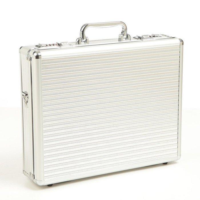 【優上精品】茜菲婭 產品展示鋁合金筆記本電腦工具箱 手提密碼箱 證件箱G20(Z-P3216)