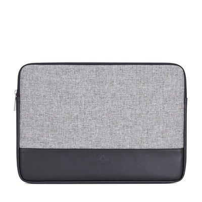 手拿包帆布電腦包-拼接皮革簡約時尚男女包包2款73vy7[獨家進口][米蘭精品]