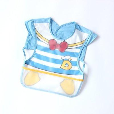 店長嚴選寶寶短袖罩衣無袖透氣純棉防水反穿衣嬰兒圍嘴圍兜兒童吃飯衣畫畫