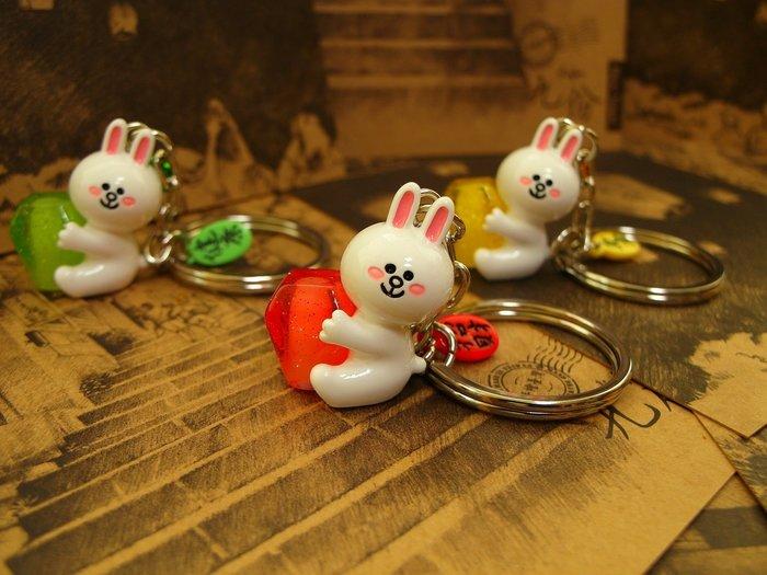 LINE兔兔天燈鑰匙圈....@台灣獨家上市@
