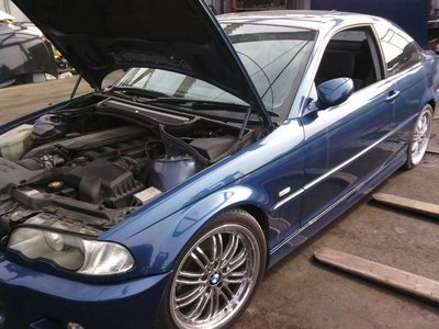bmw e46 330ci m sport外匯零件車拆賣