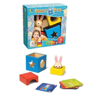{kobe.com繪本網}SMART GAMES 兔寶寶魔術箱