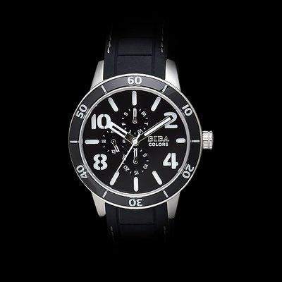 法國碧寶錶 BIBA 絕色系列錶款,黑...
