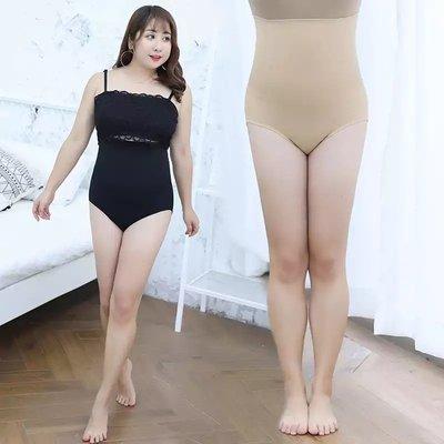 ✿plump girl 甜美✿中大尺碼女裝孕婦裝收腹褲產後高腰蜂巢束腰內褲塑身褲B002