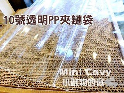 。╮♥ Mini Cavy ♥╭。10號 PP夾鏈袋 單個(24 x 34 cm) 夾鍊袋 收納 食品包裝袋 PP袋