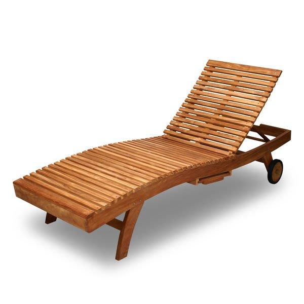 Brother 柚木躺椅~~~兄弟牌普吉島南洋休閑風情造型柚木躺椅~泳池畔必備!!