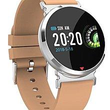 Sante IP67 防水即時心率壓監測智能手錶 SE28 銀色配黃帶 (順豐包郵)
