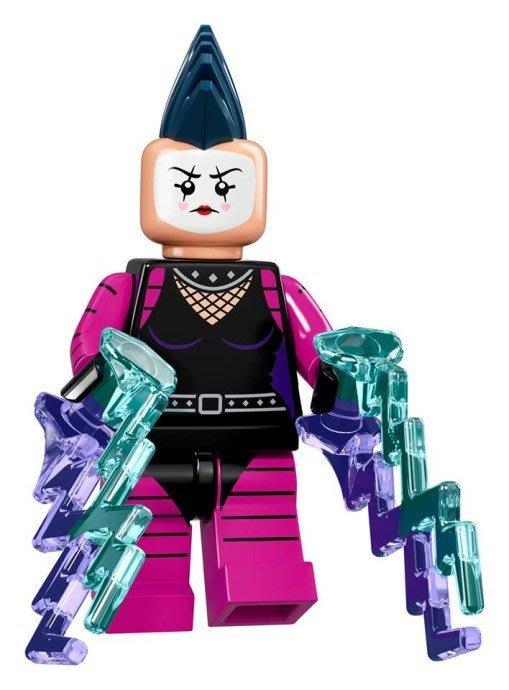 現貨【LEGO 樂高】Minifigures人偶系列: 蝙蝠俠電影人偶包抽抽樂 71017 | #20 龐克女丑+武器