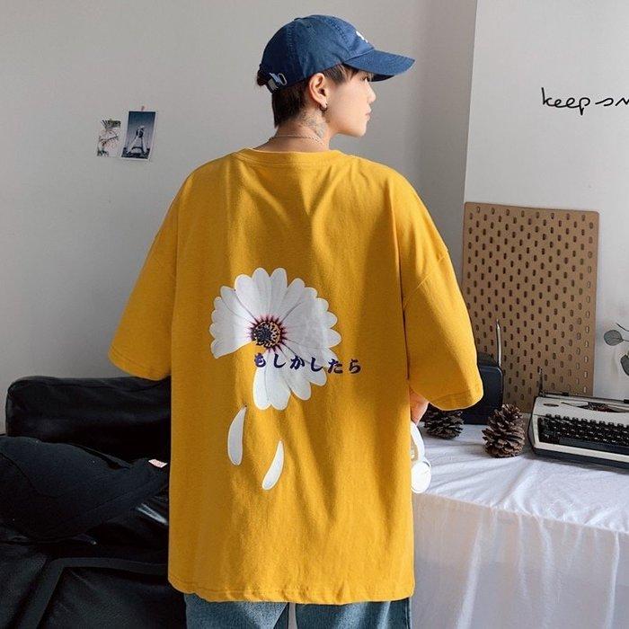 ♥【📷YI帥氣潮男爆款】☛型男必備 ☚BF韓版原宿風印花短T♥