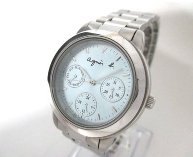agnes b. 女錶 運動鍊帶型 美~100%真品