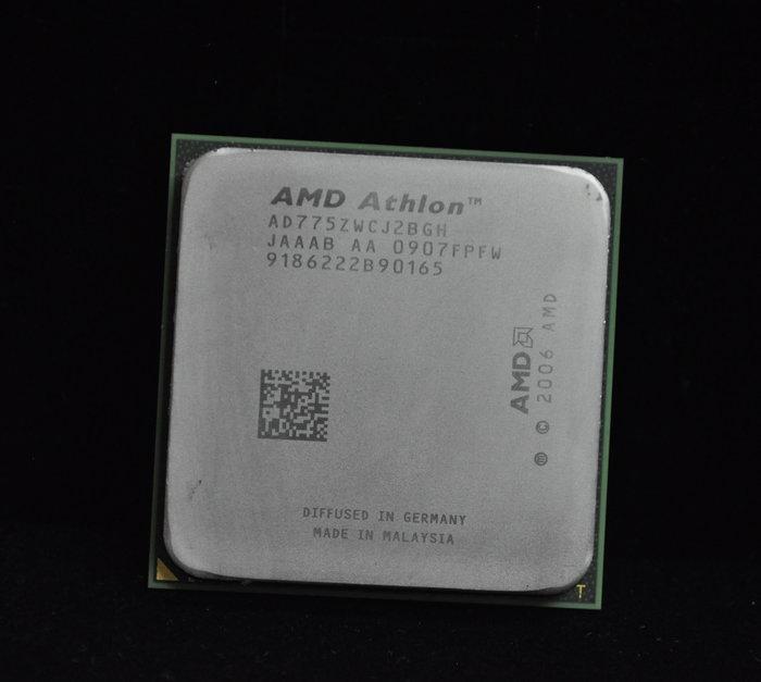 AMD Athlon X2 7750 BE(黑盒版) 雙核正式版 送風扇(AM2+ 2.7G)非 7550 7850