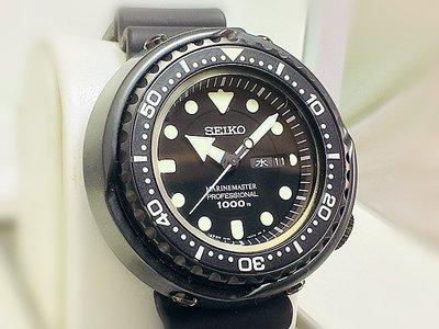 準時鐘錶seiko prospex marine master professional 1000m收買名錶.二手錶)