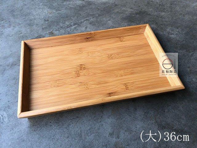 +佐和陶瓷餐具批發+【05TEM52 / 長方斜邊托盤-大36*24*3.5】托盤 木托盤 餐廳用具 擺盤