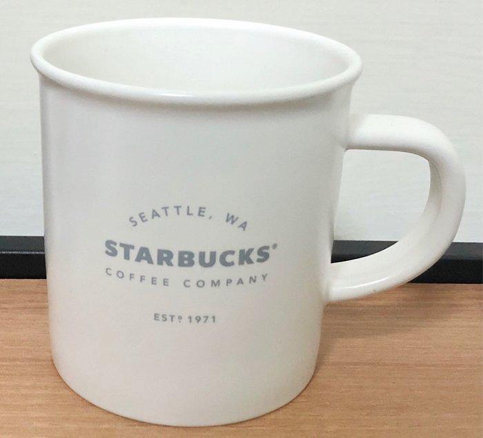 Starbucks 白色馬克杯—-355ml