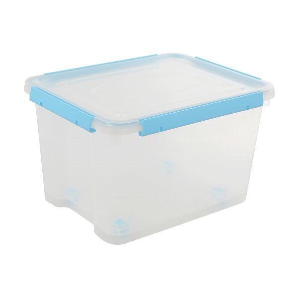 315百貨~ 日系無印良品風格 KT240*6入組 底輪設計/好運密封整理箱/收納箱/收納盒/塑膠盒/文具盒