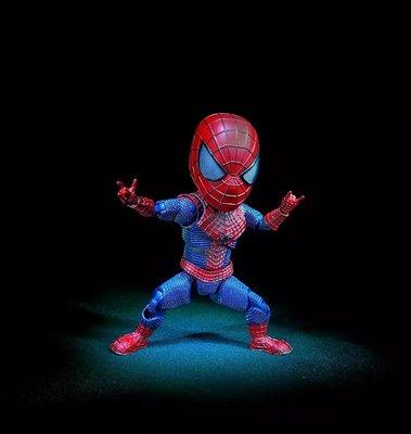 【紫色風鈴】Egg Attack Action 超凡蜘蛛俠Spider Man2 Q版蜘蛛人可動 港版