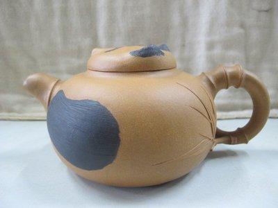 二手舖 NO.4210 紫砂壺 精選茗壺 熊貓造型茶壺 土胎好 手工細膩 值得收藏