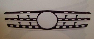 泰山美研社 18103001 賓士BENZ W163 類W164 98~05 3線亮黑水箱罩 ML320 ML350