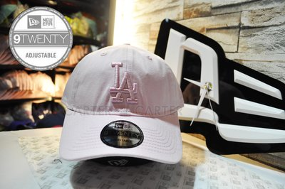 New Era LA Dodgers 9twenty pink on pink 粉紅色洛杉磯道奇粉紅色logo軟老帽