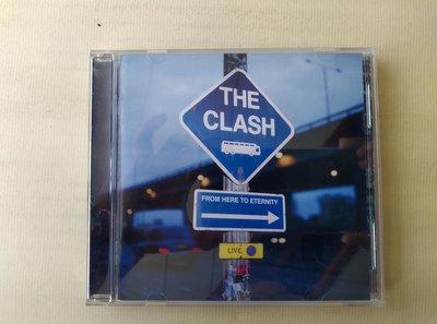 【鳳姐嚴選二手唱片】THE CLASH 衝擊合唱團 / From Here To Eternity 現場演唱精選(側標)