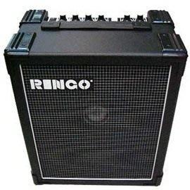 【金聲樂器】 RINGO 35瓦貝斯.電吉他.鍵盤全音域音箱!!有破音效果