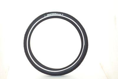 老田單車  STRIDA16吋輪胎 16*1.5 防刺外胎 安全反光條 原廠黑色