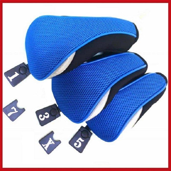 (現貨)高爾夫馬卡龍炫彩透氣網布木桿套組一組3入【AE10577】  JC雜貨