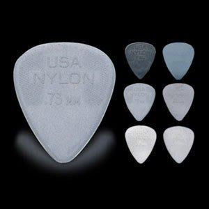 ☆ 唐尼樂器︵☆ DUNLOP NYLON Standard 木吉他/烏克麗麗/電吉他/ Bass 用 PICK 彈片