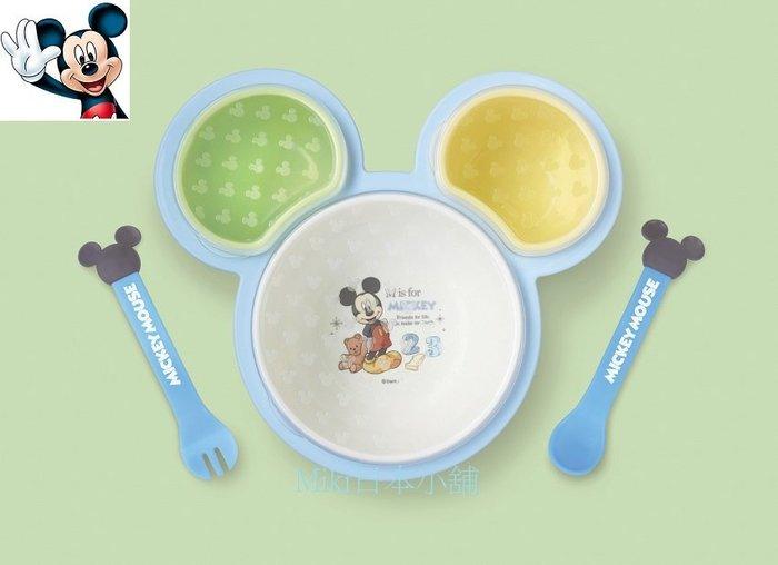 *Miki日本小舖*日本迪士尼 Mickey 米奇造型餐具/兒童餐具組/禮盒組6件入