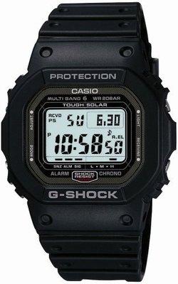 【現貨日版買到賺】日本製CASIO G-SHOCK GW-5000-1 JF旋入式底蓋DLC處理GMW-B5000D-1