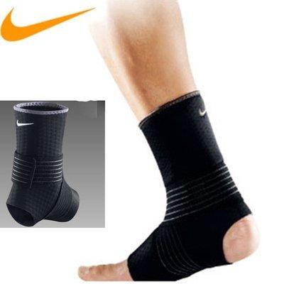 ☜男神閣☞NIKE/耐克足球羽毛籃球運動綁帶護腳踝套腕腳踝護具單支