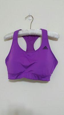 Adidas CLIMACOOL 紫色 運動內衣 慢跑 20170715