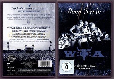 音樂居士#Deep Purple - From the Setting Sun In Wacken 2015 () DVD