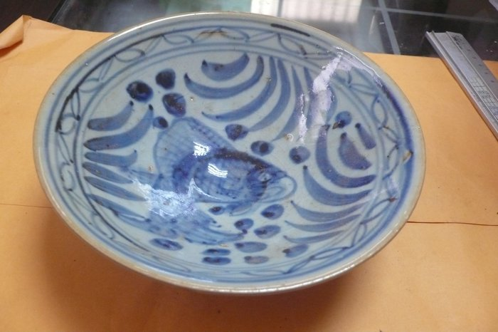紫色小館89-------清-青花碗