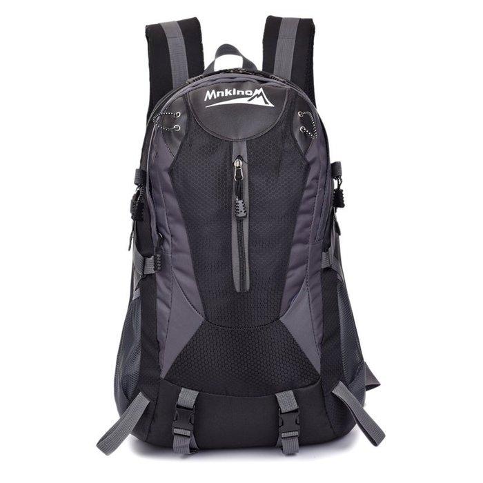 MNKINO戶外旅行休閒/登山背包FK012BK黑色40L