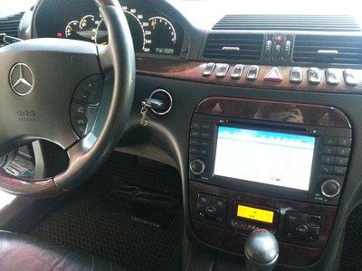 [樂克影音]  賓士BENZ W220 專用多媒體7吋影音主機  DVD/USB/SD/藍芽/GPS/AUX/MP3