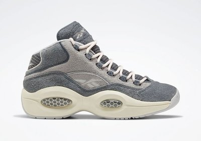 南◇2020 1月 REEBOK Question Mid  IVERSON 灰色 AI 艾佛森 FW0875 米白