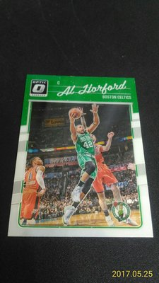 2016-17 DONRUSS OPTIC~Al Horford 金屬普卡 # 22