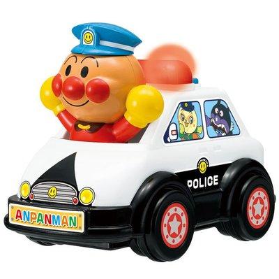 ~日本貨衝衝衝~ 17021000013 警車玩具-ANP 麵包超人 細菌人 兒童玩具 警車玩具 小車 聲動玩具車