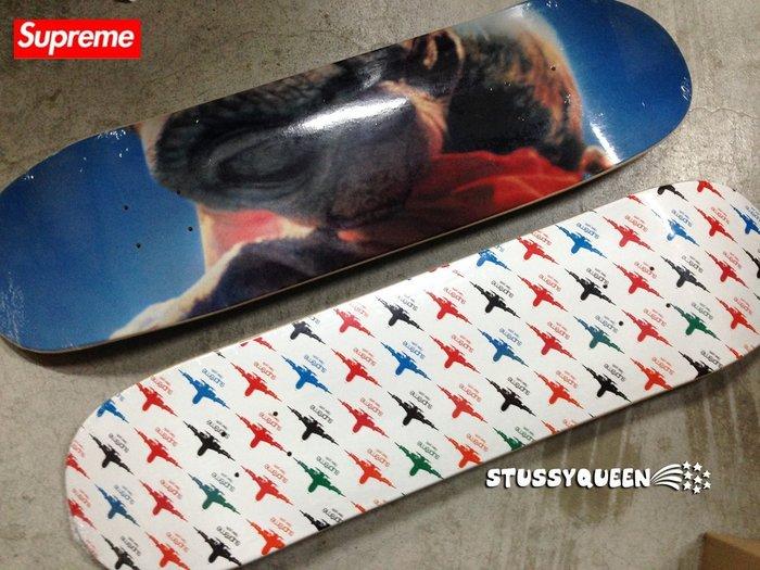 【超搶手】全新正品2015 AW 秋冬 聯名 Supreme x E.T. Skateboard ET 滑板 黑色
