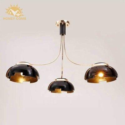 【免運費】複刻 北歐風 吸頂3燈 現代 簡約 臥室 餐廳 創意  中式 壁燈 混搭風 LOFT工業風 自行DIY組裝款