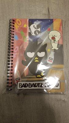 XO 簿仔 筆記簿 Bad Badtz Maru Sanrio 交叉窿 酷企鵝