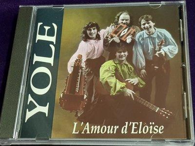 R西洋團(二手CD)SEVERAL RECORDS YOLE L Amour DElltse