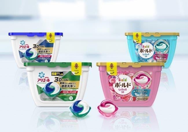 日本 P&G 3D立體洗衣膠球盒裝 18入 最新款三層結構《四款可選》✪棉花糖美妝香水✪