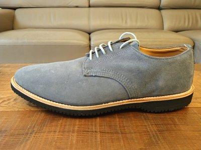 Walk-Over Chase Suede Oxford丹寧藍美國製麂皮牛津鞋vibram黃金大底 尺寸10.5