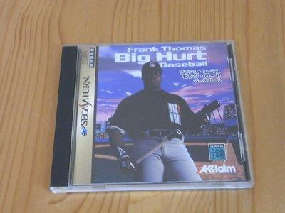 【小蕙館】SS~ Big Hurt Baseball 燃燒吧!野球'95 (純日版) 有側標